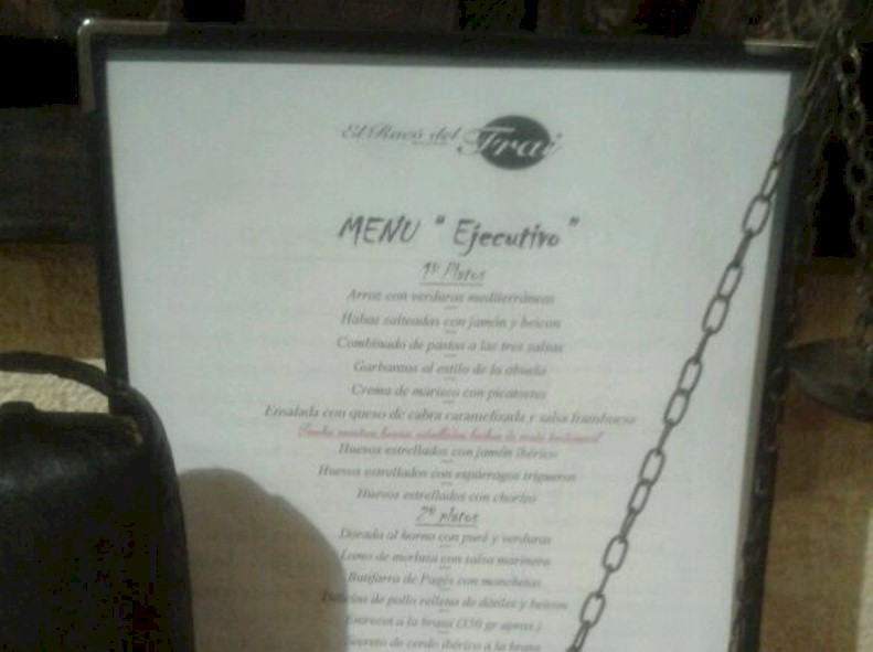 Nuestros menus